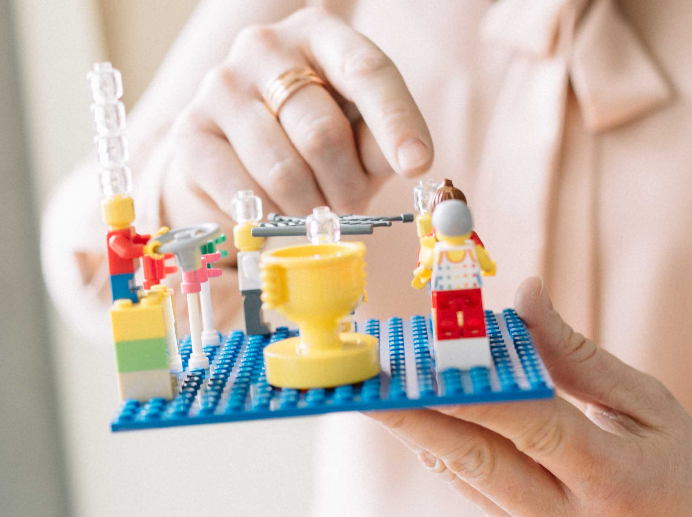 Workshop mit Lego Serious Play